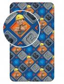 Pre chlapcov bavlnená detská posteľná plachta Bob Staviteľ 002, Jerry Fabrics