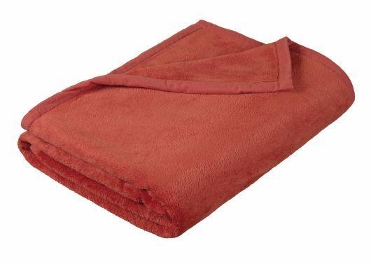 Príjemne hebká detská deka MICRO v terra farbe, Kvalitex