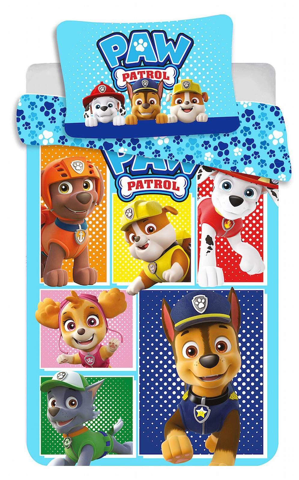 Disney obliečky do postieľky Paw Patrol 184 baby Jerry Fabrics