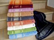 Luxusné bambusové uteráky a osušky v rôznych farbách Bamboo, Ostatní